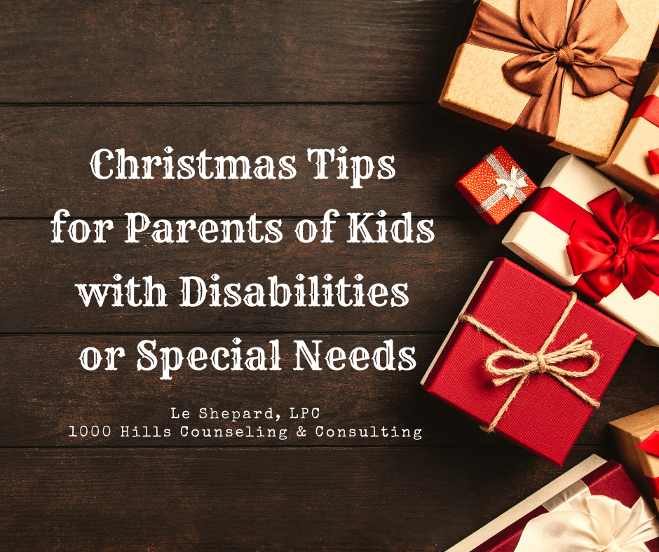 Christmas Tips for Parents of Kids with Disabilities or Special Needs